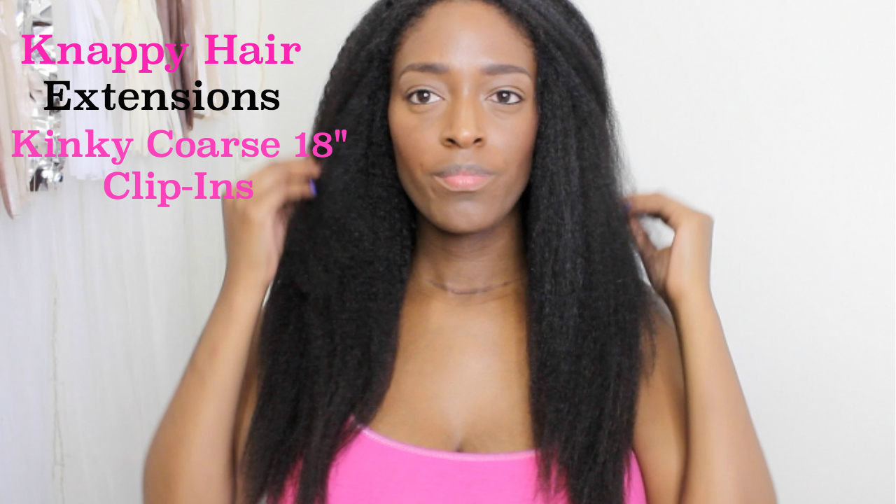 Knappy Hair Extensions Initial Install (feat. Kinky Coarse 18
